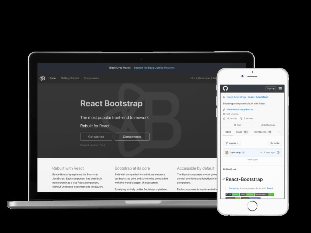 React Bootstrap UI Kit for React JS 2021